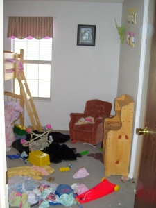 The girls' room.