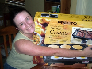I heart my new griddle very much.