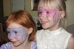 My pink & purple ninjas. (May 2013)