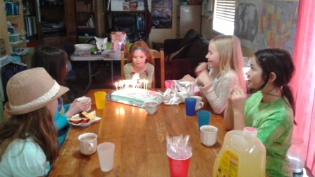 Happy birthday with friends!