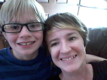 Birthday selfie with a 12 year old. Sigh...