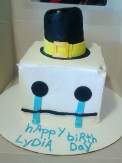 Hatty Hattington cake.