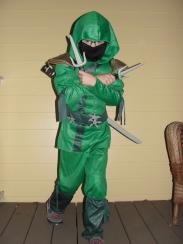 Green Ninja. (so intimidating)